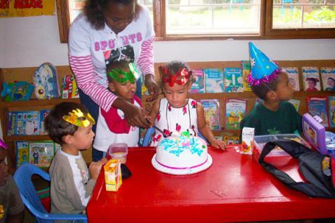 english pre school birthday